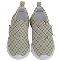 Plaid 2 Velcro Strap Shoes by dressshop