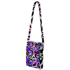Retro Swirl Abstract Multi Function Travel Bag by dressshop