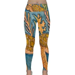 Turty  All Lightweight Velour Classic Yoga Leggings by ArtByAng