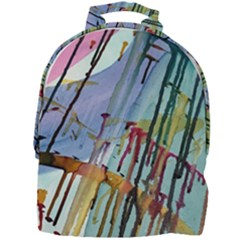 Chaos In Colour  Mini Full Print Backpack by ArtByAng