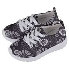 Floral Pattern Kids  Lightweight Sports Shoes by Hansue