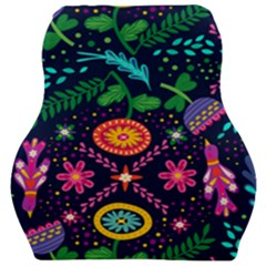 Colorful Pattern Car Seat Velour Cushion  by Hansue