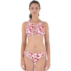 Hearts Perfectly Cut Out Bikini Set by Hansue