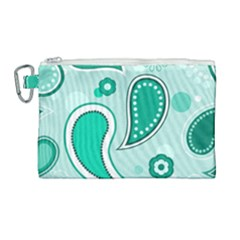 Seamless Canvas Cosmetic Bag (large) by Hansue