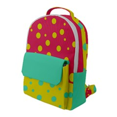 Dot Flap Pocket Backpack (large) by Wanni