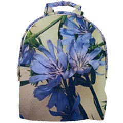 Blue Wildflowers Mini Full Print Backpack