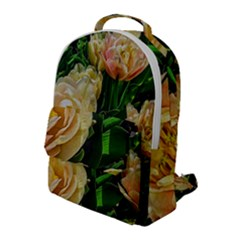 Early Summer Flowers Flap Pocket Backpack (large) by bloomingvinedesign