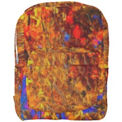 Fall Bokeh Highlights Full Print Backpack