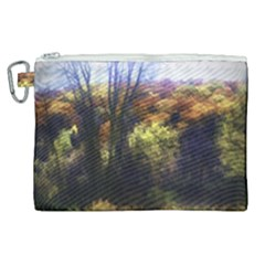 Fall Abstract Landscape Canvas Cosmetic Bag (xl) by bloomingvinedesign
