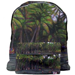 Hawaiian Beach Abstract Giant Full Print Backpack by bloomingvinedesign