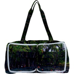 Hawaiian Beach Abstract Multi Function Bag by bloomingvinedesign