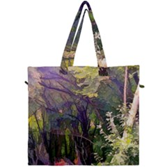 Into Woodlands Canvas Travel Bag by bloomingvinedesign
