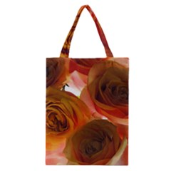 Orange Roses Classic Tote Bag by bloomingvinedesign