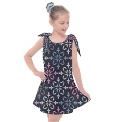 Background Wallpaper Abstract Art Kids  Tie Up Tunic Dress
