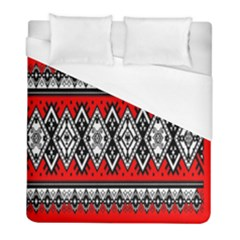 Decoration Pattern Style Retro Duvet Cover (full/ Double Size) by Nexatart