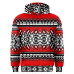 Decoration Pattern Style Retro Men s Overhead Hoodie