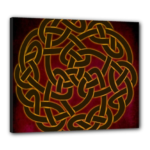 Beautiful Art Pattern Canvas 24  X 20  (stretched)