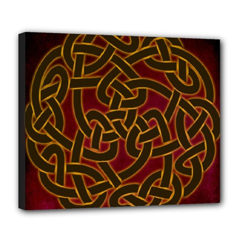 Beautiful Art Pattern Deluxe Canvas 24  X 20  (stretched)