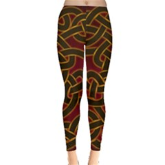 Beautiful Art Pattern Leggings
