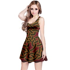 Beautiful Art Pattern Reversible Sleeveless Dress