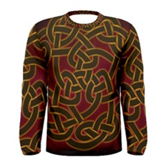 Beautiful Art Pattern Men s Long Sleeve Tee