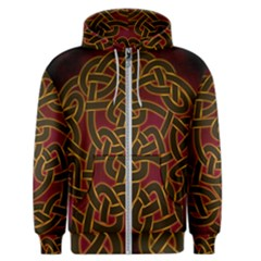 Beautiful Art Pattern Men s Zipper Hoodie