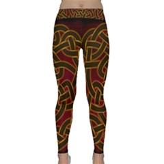 Beautiful Art Pattern Classic Yoga Leggings