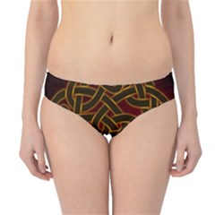 Beautiful Art Pattern Hipster Bikini Bottoms