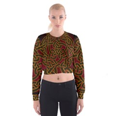 Beautiful Art Pattern Cropped Sweatshirt
