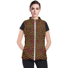 Beautiful Art Pattern Women s Puffer Vest
