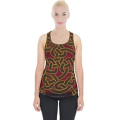 Beautiful Art Pattern Piece Up Tank Top
