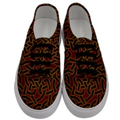 Beautiful Art Pattern Men s Classic Low Top Sneakers