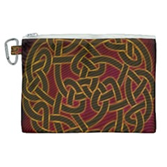 Beautiful Art Pattern Canvas Cosmetic Bag (xl) by Nexatart