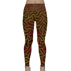 Beautiful Art Pattern Lightweight Velour Classic Yoga Leggings