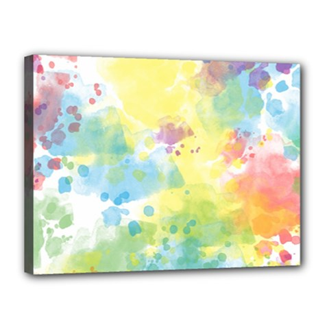 Abstract Pattern Color Art Texture Canvas 16  X 12  (stretched)