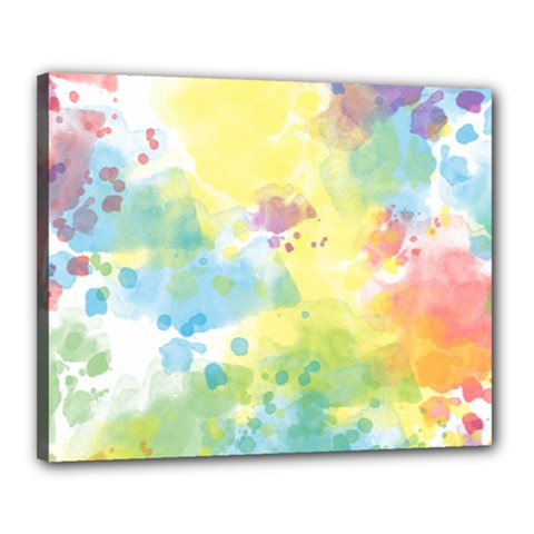Abstract Pattern Color Art Texture Canvas 20  X 16  (stretched)