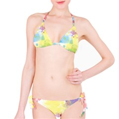 Abstract Pattern Color Art Texture Classic Bikini Set