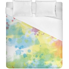Abstract Pattern Color Art Texture Duvet Cover (california King Size)