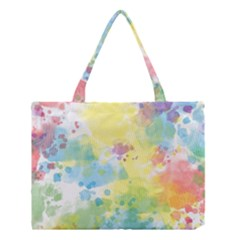 Abstract Pattern Color Art Texture Medium Tote Bag