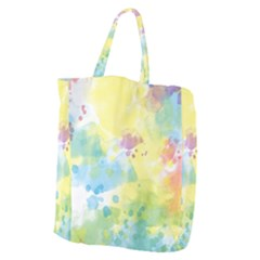 Abstract Pattern Color Art Texture Giant Grocery Tote
