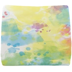 Abstract Pattern Color Art Texture Seat Cushion