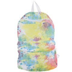 Abstract Pattern Color Art Texture Foldable Lightweight Backpack