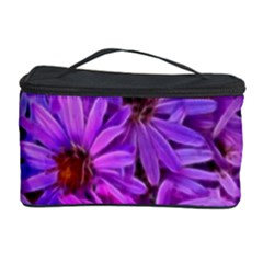 Pink Garden Flowers Cosmetic Storage by bloomingvinedesign