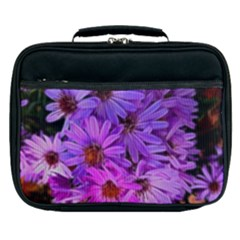 Pink Garden Flowers Lunch Bag by bloomingvinedesign