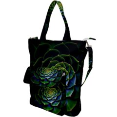 Nature Desktop Flora Color Pattern Shoulder Tote Bag