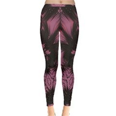 Glitch Glitch Art Grunge Distortion Inside Out Leggings