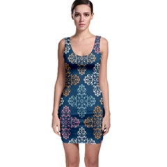 Background Wallpaper Abstract Art Bodycon Dress by Nexatart