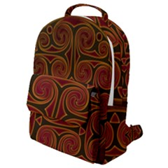Beautiful Art Pattern Flap Pocket Backpack (small)