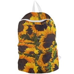 Sunflowers Foldable Lightweight Backpack