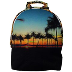 Sunset From The Car Mini Full Print Backpack by bloomingvinedesign